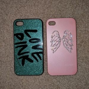Brand new iphone 4 VS cases